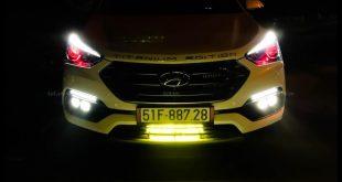 Led bar <strong>độ đèn Ford Ranger</strong>: Đèn led rất sáng độ cho xe bán tải tại Tp.Sài Gòn